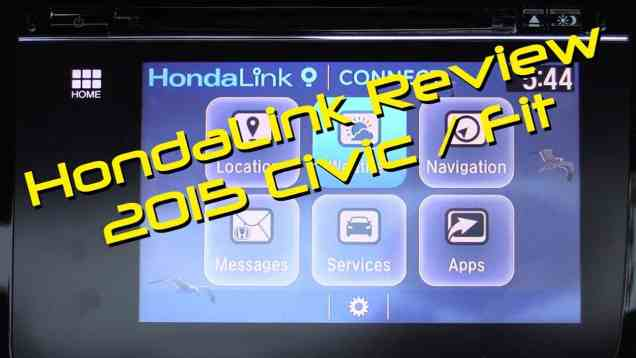 Honda HondaLink Connect aka Next Generation Infotainment and Navigation System Review