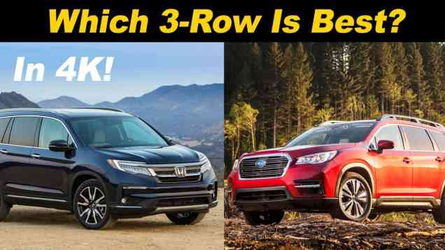 Honda Pilot vs Subaru Ascent –  Which Is Right For You?