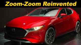 Mazda's 2020 Mazda3, Now With AWD And Compression Ignition