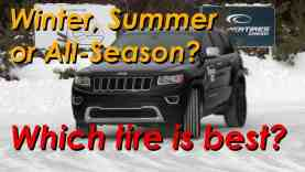 Summer vs All Season vs Winter tires which is right for you
