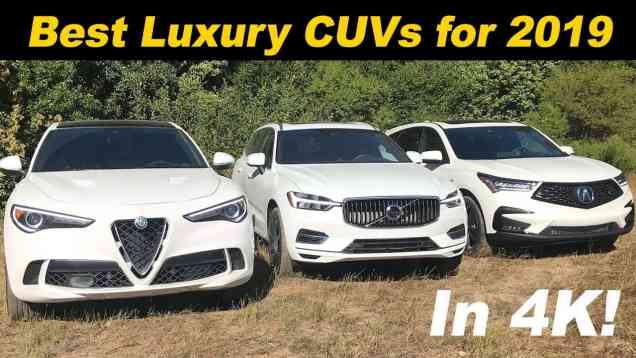 The Best Luxury Crossovers In America – 2019
