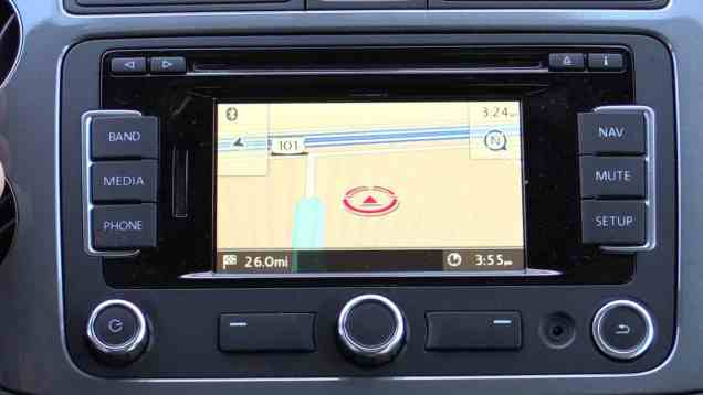 Volkswagen RNS 315 Infotainment and Navigation Review