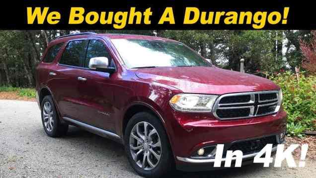 Why I bought a 2018 Dodge Durango (2018 Durango Review)