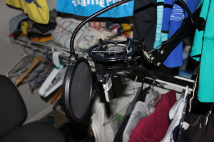 Pop Filter and Mic