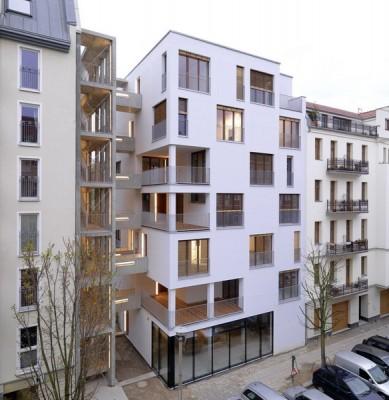 e3 Building in Berlin, Germany. Seven stories in wood.