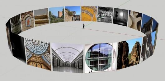 Flickr photos in SketchUp