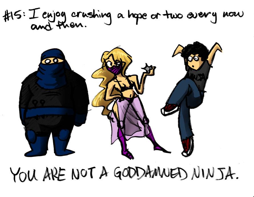 #15: Ninjas