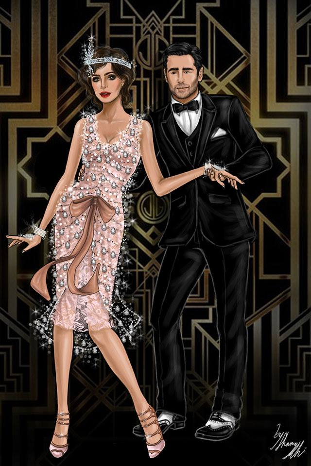 Image result for gatsby party