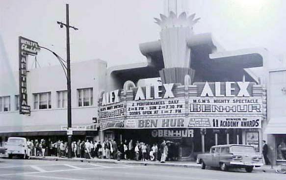 History  Alex Theatre