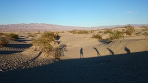 Mesquite Flat Sand Dunes @Death Valley