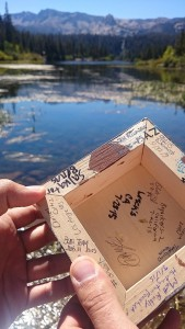 Geocaching @Mammoth Lakes