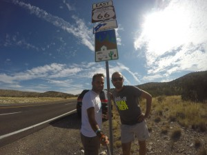 On the road @Route 66
