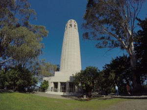 Coit Tower @San Francisco