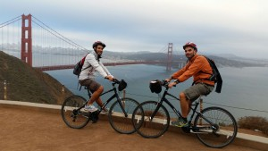 Golden Gate Bridge by bike @San Francisco
