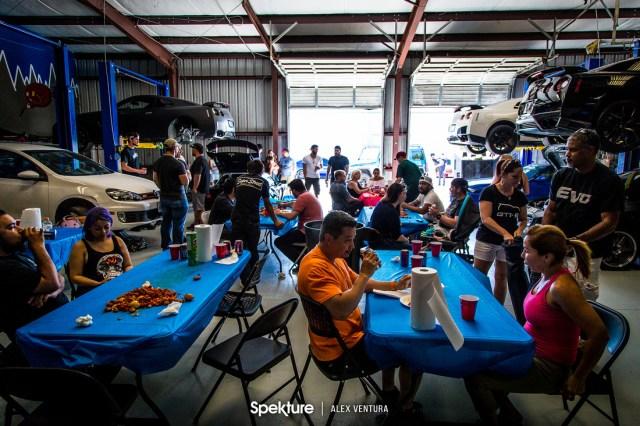 Advent Works: Spekture Car Meet + The Shops Celebration &emdash;