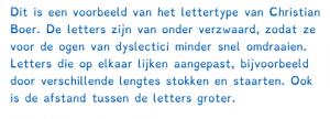 Letters dyslexie. 23 22-17-49