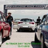 5o TRACK DAY «ALFA TROFEO»