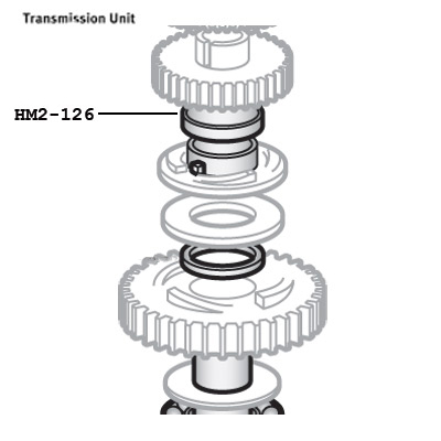 Hobart 12695 Clutch Gear Bearing (Bronze) For Mixers