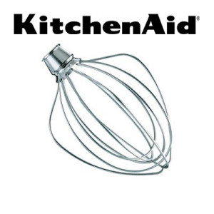 KitchenAid® K4WW 4.5 Quart Stainless Steel Whip for Mixers