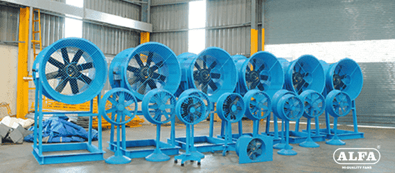 industrial fans blowers manufacturer