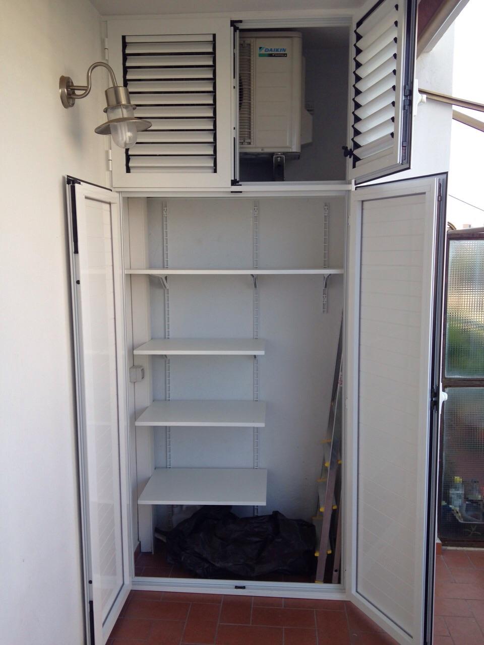 Mobili coprimotore esterno dei condizionatori  ALFA