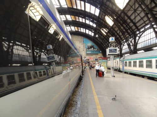Milan's Central Train Station