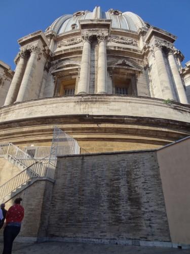 Climbing the Cupula of Saint Peter's Basilica