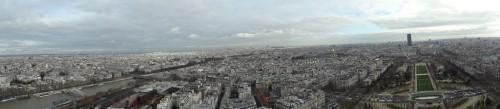 Paris panoramic photos