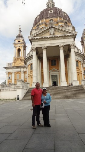 Basilica of Superga in Turin