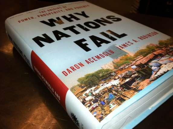 """""""لماذا تفشل الأمم ؟"""""""