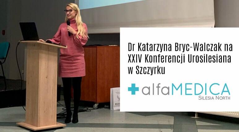 Lek. Katarzyna Bryc-walczak na konferencji Urosilesiana