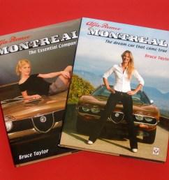 two alfa romeo montreal books  [ 1280 x 968 Pixel ]