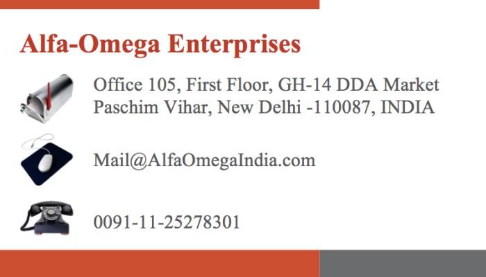 Alfa-Omega Card