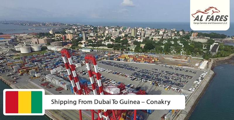 Shipping From Dubai To Guinea – Conakry
