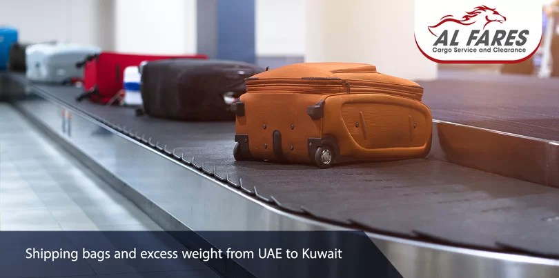 Shipping bags and excess weight from UAE to Kuwait