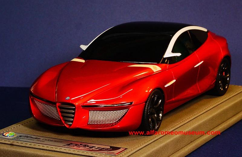 Alfa Romeo Disco Volante >> Alfa Romeo Model Car Museum » [ 2013] Alfa Romeo Gloria ...
