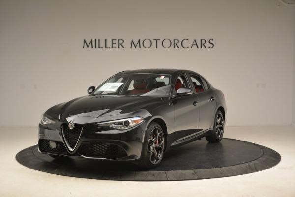 New 2019 Alfa Romeo Giulia Ti Sport Q4 For Sale (Special Pricing) | Alfa Romeo of Westport Stock #L542