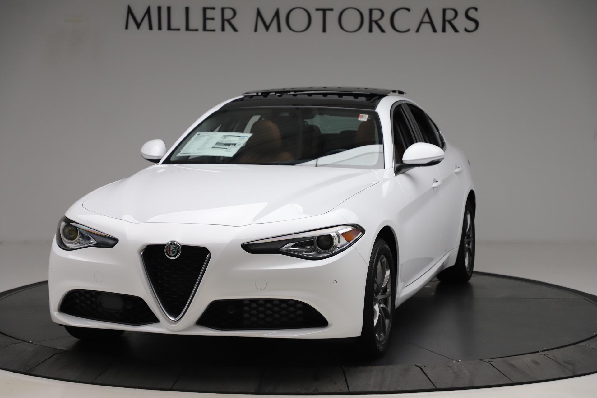 New 2020 Alfa Romeo Giulia Q4 For Sale ($45.590) | Alfa Romeo of Westport Stock #LW404