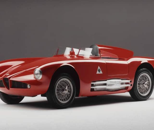 Alfa Romeo  Abarths Experimental Prototype