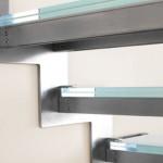 Particolare scale in acciaio inox-elite strike inox glass alfascale