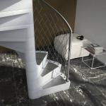 scale a chiocciola Modello Smart Fusion Alfa Scale - particolare gradino