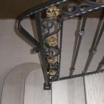 Particolare Scale Interne Classiche ringhiera in ferro battuto - Alfa Scale
