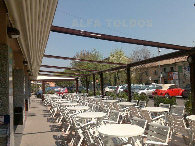 Cerramientos de terrazas bares y restaurantes