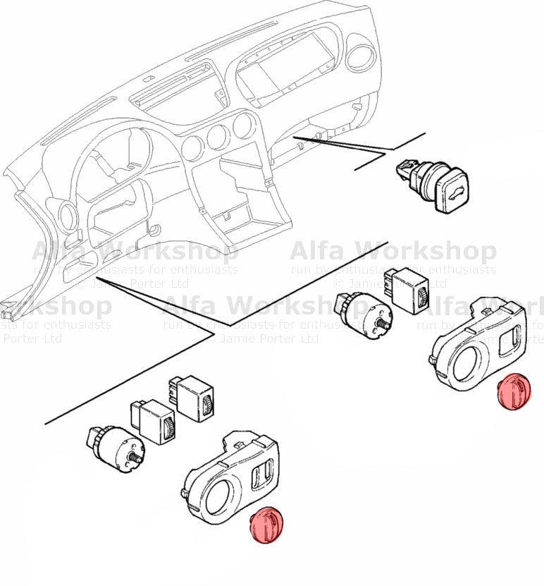 Alfa Romeo 166 Switch