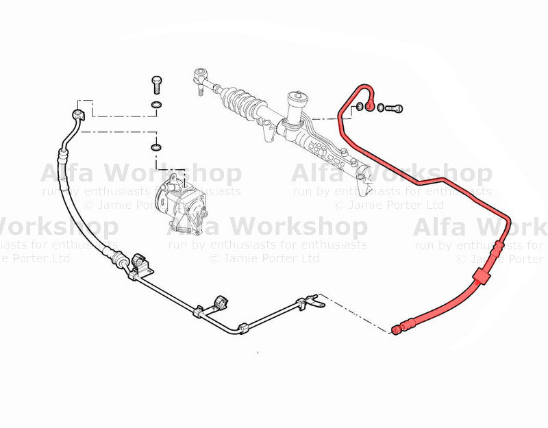 Alfa Romeo 159 Sportwagon Power Steering