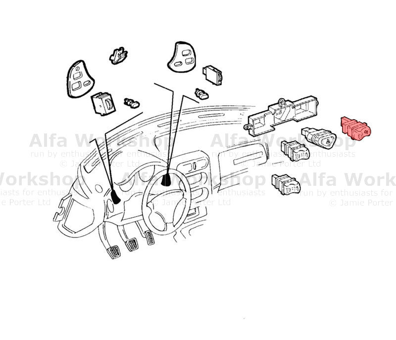 Alfa Romeo Spider Switch