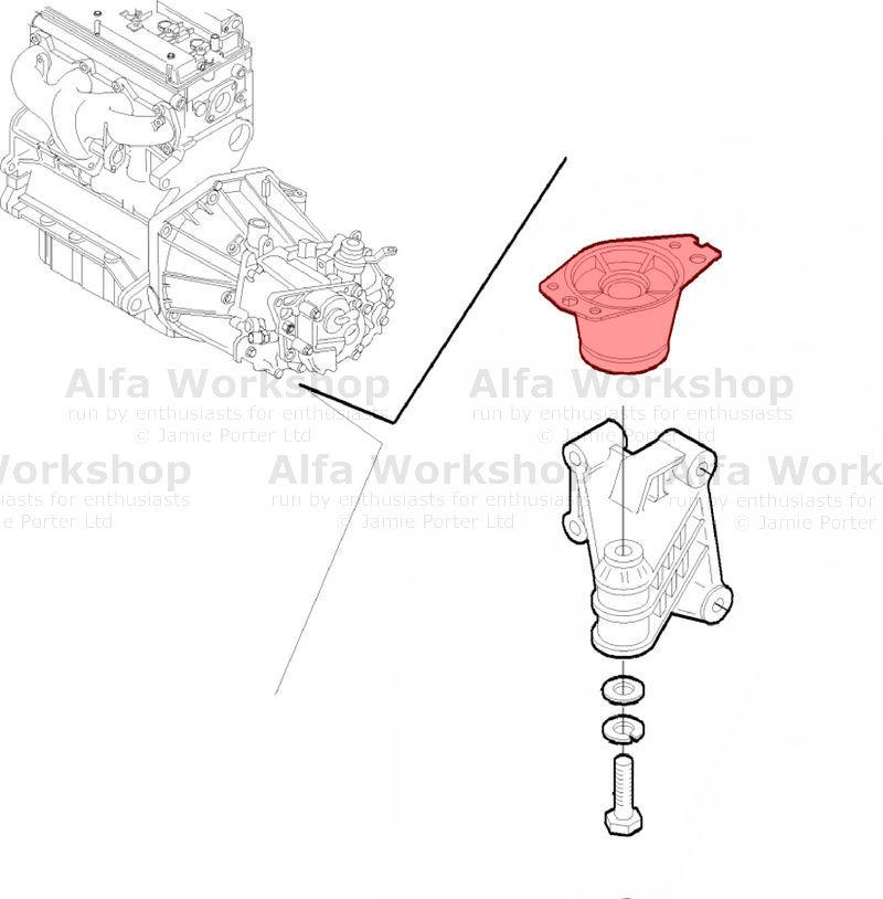 Alfa Romeo 147 Engine mount