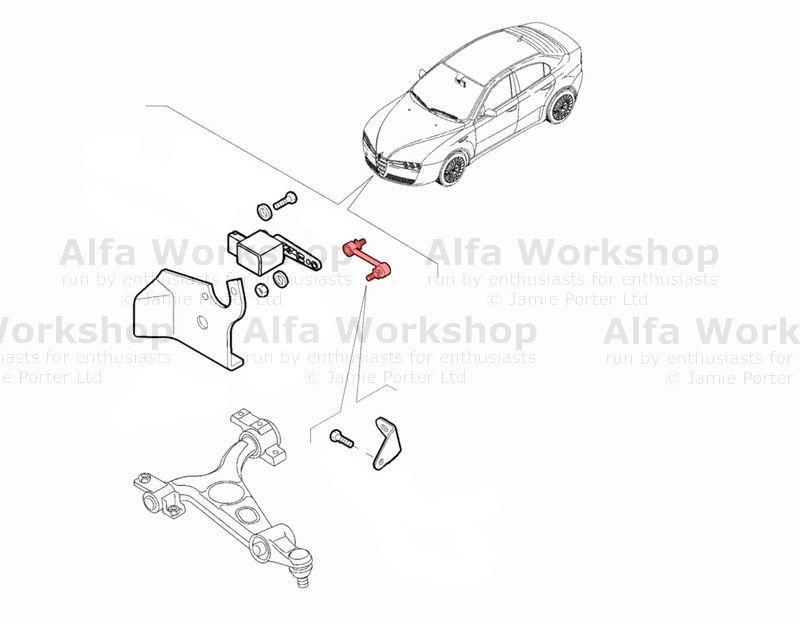 Alfa Romeo Giulietta Headlights