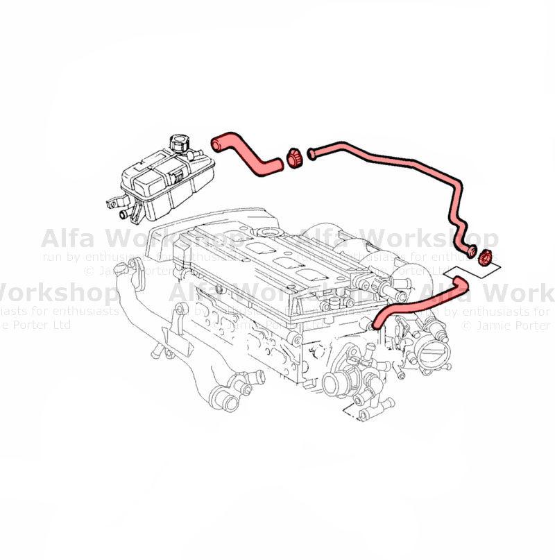 Alfa Romeo 156 Hose / pipe
