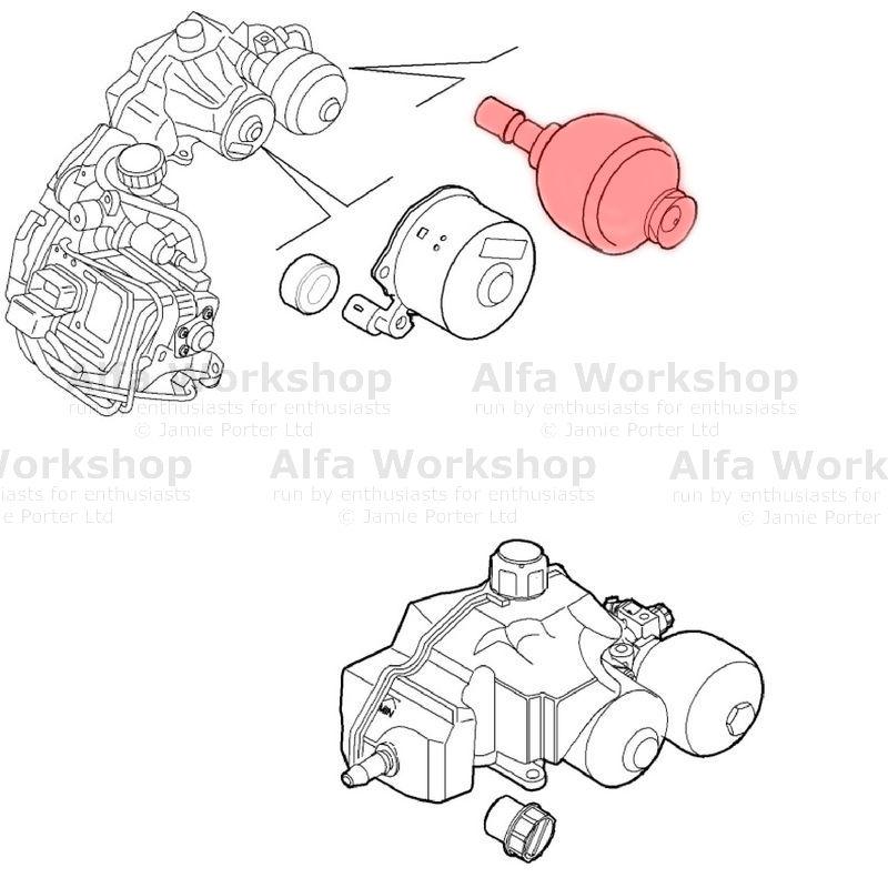 Alfa Romeo Actuator